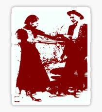 BONNIE AND CLYDE Sticker