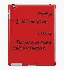 TV shows addicted. iPad Case/Skin