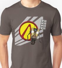 Borderlands CL4P-TP Claptrap and Pandora vault logo T-Shirt