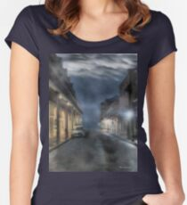 Rue Brumeuse Women's Fitted Scoop T-Shirt
