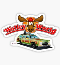 WALLEY WORLD - NATIONAL LAMPOONS VACATION (2) Sticker