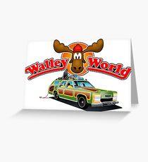 WALLEY WORLD - NATIONAL LAMPOONS VACATION (2) Greeting Card