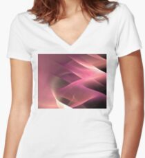 Pink Sands Women's Fitted V-Neck T-Shirt