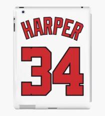 JERSEY HARPER 34 ! iPad Case/Skin
