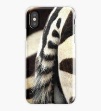 Zebra Posterior 2 iPhone Case/Skin