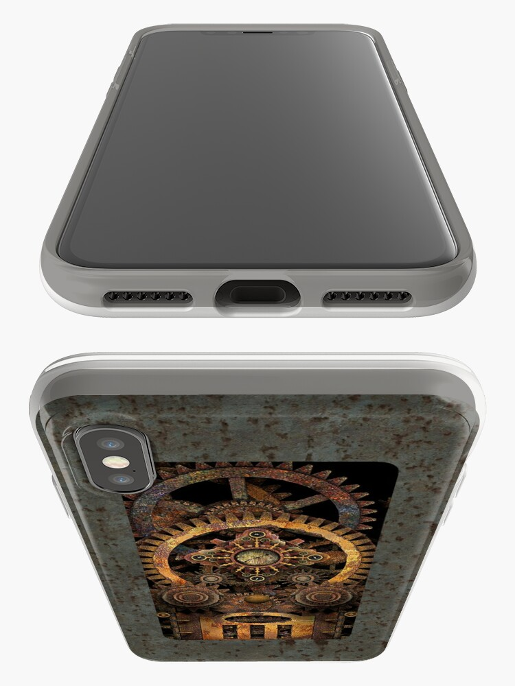 Alternate view of Infernal Vintage Steampunk Machine #2 Phone Cases iPhone Case & Cover