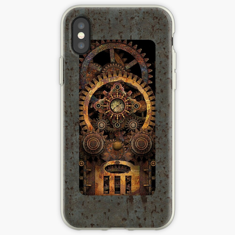 Infernal Vintage Steampunk Machine #2 Phone Cases iPhone Cases & Covers