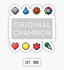 #151 :: Original Champion Sticker