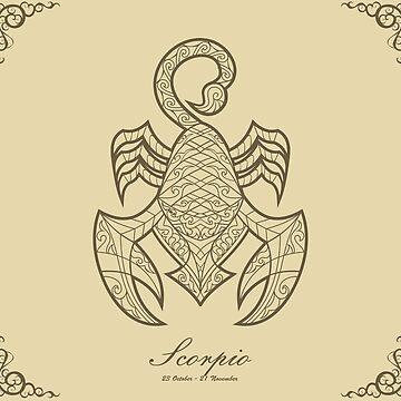 Scorpio gold by elangkarosingo