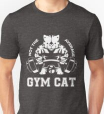 Not the average GYM CAT T-Shirt