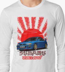 Subaru Impreza 22B WRX STI - R.I.P. EVO (Blue) T-Shirt