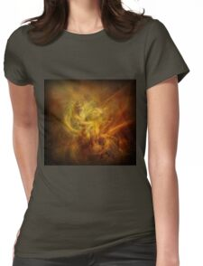 Abstract Universe Fractal Womens Fitted T-Shirt