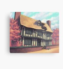 Tranquil house Metal Print