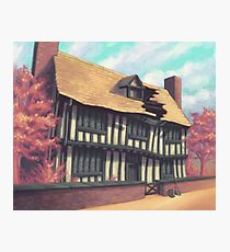 Tranquil house Photographic Print