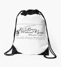 SLWG Classic Logo in Black  Drawstring Bag