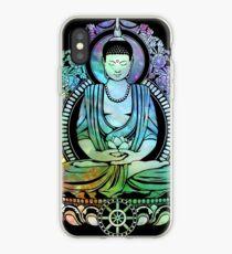 Gautama Buddha Cool Galaxy iPhone Case