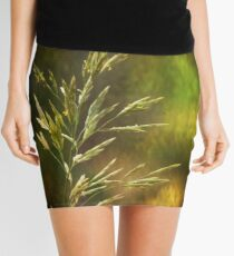 Grass Mini Skirt