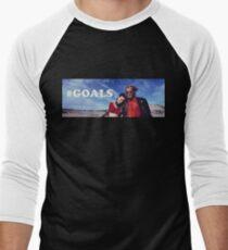 NATURAL BORN KILLERS - #GOALS Men's Baseball ¾ T-Shirt