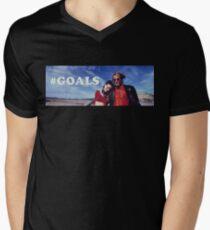 NATURAL BORN KILLERS - #GOALS Men's V-Neck T-Shirt