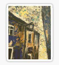 Impressionist French Houses Sticker