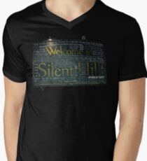 Silent Hill Sign Quotes Men's V-Neck T-Shirt