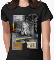 issac newton Women's Fitted T-Shirt
