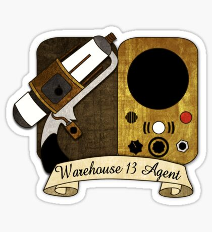 Warehouse 13 Agent Sticker
