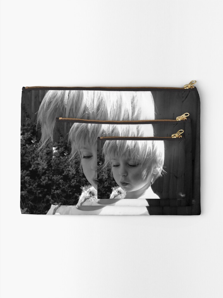 Alternate view of What's the time? Zipper Pouch