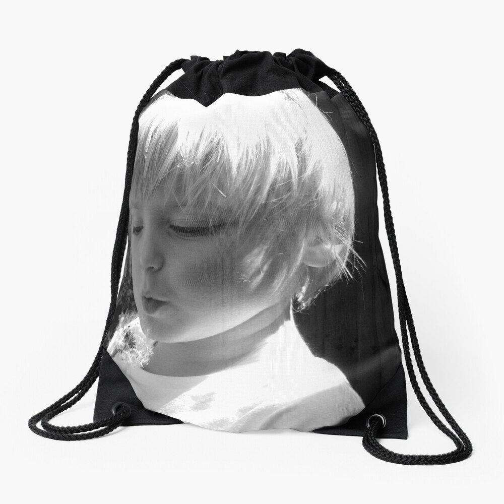 What's the time? Drawstring Bag
