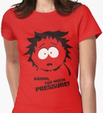 Too much pressure! Women's Fitted T-Shirt