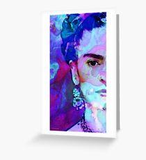 Dreaming Of Frida - Art By Sharon Cummings Greeting Card