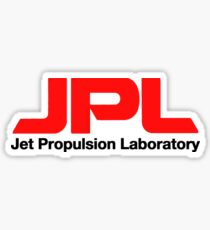 Jet Propulsion Laboratory (JPL) Logo for Light Colors ONLY Sticker