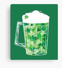 Clover Beer Canvas Print