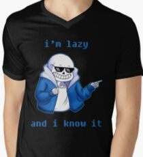 Lazy and I know it Men's V-Neck T-Shirt