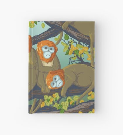 Monkeys Hardcover Journal