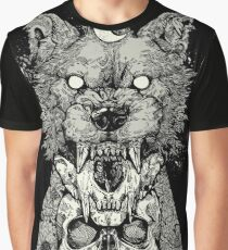 Shape Shift Black Graphic T-Shirt