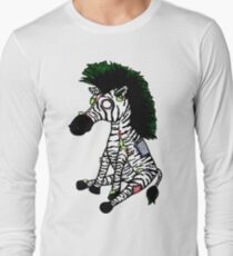 Zazzles the Zombie Zebra Long Sleeve T-Shirt