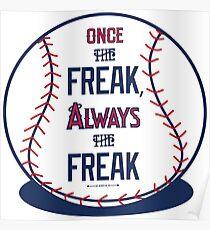 "Tim Lincecum ""The Freak"" Angels shirt Poster"