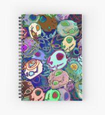 Death By Kitty Spiral Notebook