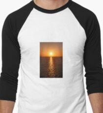 Ocean Sunset - iPhone Case Men's Baseball ¾ T-Shirt