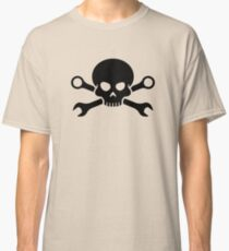 Skull 'n' Tools - Screw Pirate 1 (black) Classic T-Shirt