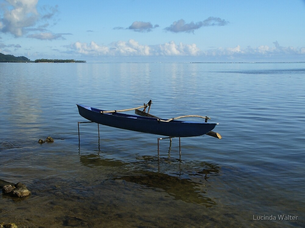 Boat on Stilts by Lucinda Walter