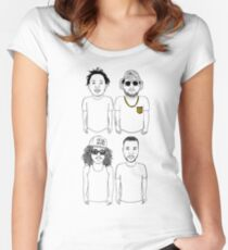 Black Hippy Women's Fitted Scoop T-Shirt