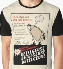 Beetlejuice Advertisement Graphic T-Shirt