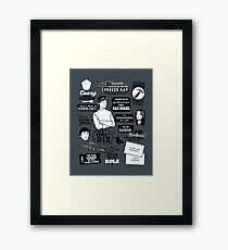Horrible Quotes Framed Print