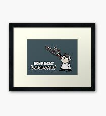 Horrible's Laboratory Framed Print