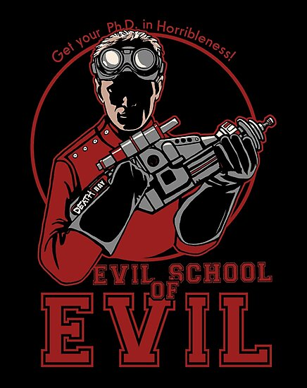 Dr. Horrible's Evil School of Evil by CrumblinCookie