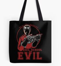Dr. Horrible's Evil School of Evil Tote Bag