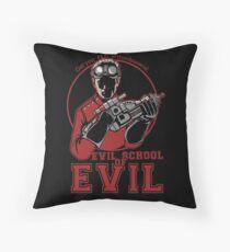 Dr. Horrible's Evil School of Evil Throw Pillow