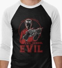 Dr. Horrible's Evil School of Evil Men's Baseball ¾ T-Shirt